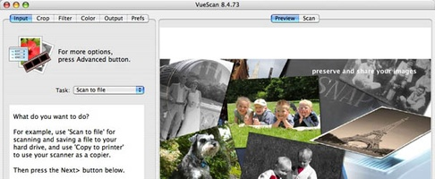 VueScan screenshot 4