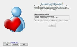 Messenger Reviver screenshot 2