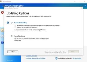 SpywareBlaster screenshot 3