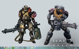 Halo: Reach Windows 7 Theme screenshot 10