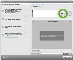 Time Doctor for Mac OS X screenshot 3
