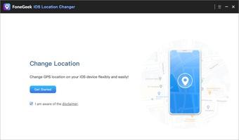 FoneGeek iOS Location Changer screenshot 2