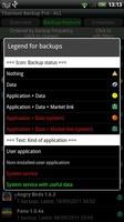 Titanium Backup Root screenshot 4