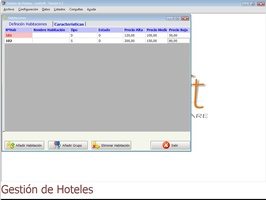 Gestion Hoteles screenshot 3