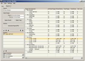 Printer Activity Monitor screenshot 2