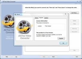 All Free Video Converter screenshot 2