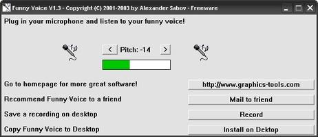 Funny Voice screenshot 2