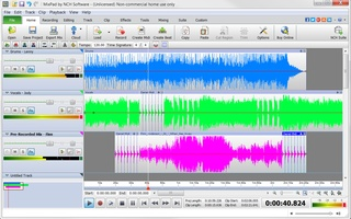 MixPad Free Music Mixer and Recording Studio screenshot 3
