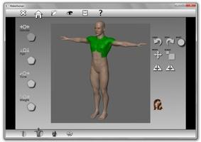 MakeHuman screenshot 3