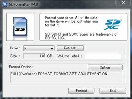 SD Card Formatter screenshot 4