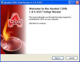 Alcohol 120% screenshot 4