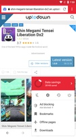 Opera Mini beta screenshot 5