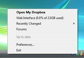 Dropbox screenshot 4