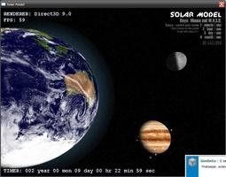 Solar Model 3D screenshot 2