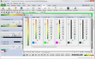MixPad Free Music Mixer and Recording Studio screenshot 2
