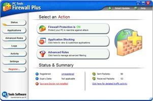 Pc Tools Firewall Plus screenshot 2