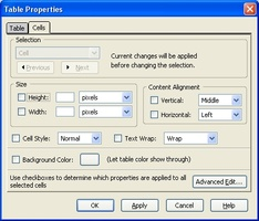 KompoZer screenshot 4