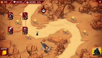 Star Wars: Galactic Defense screenshot 5