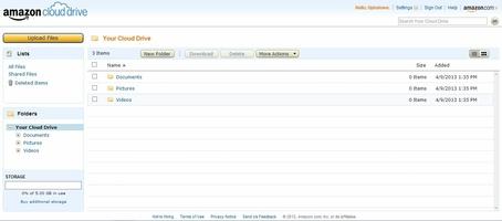 Amazon Cloud Drive screenshot 4