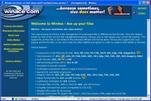 WinAce screenshot 3