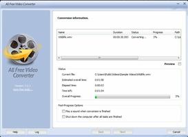All Free Video Converter screenshot 7