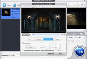 WinX HD Video Converter Deluxe screenshot 5