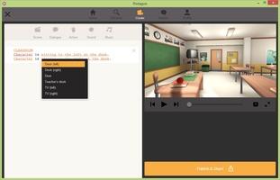 Plotagon screenshot 2