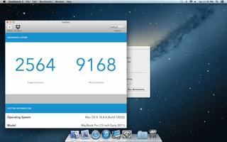 Geekbench screenshot 2