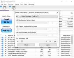 CrystalDiskInfo screenshot 3