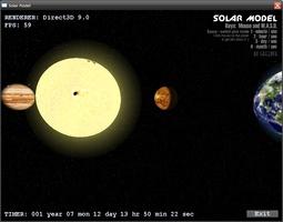 Solar Model 3D screenshot 4