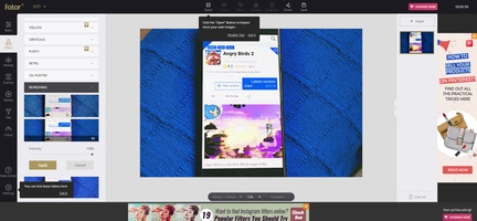 Fotor for Windows screenshot 3