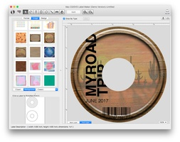 Mac CD/DVD Label Maker screenshot 8