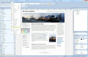WYSIWYG Web Builder screenshot 2