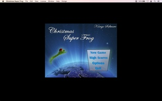 Christmas Super Frog screenshot 2