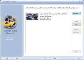All Free Video Converter screenshot 3
