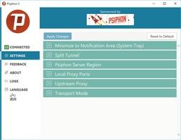 Psiphon screenshot 5