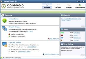 Comodo Firewall screenshot 2