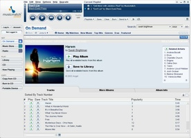 MusicMatch Jukebox screenshot 2