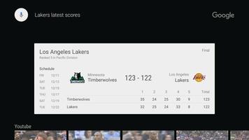 Google app for Android TV screenshot 4