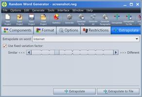 Random Word Generator screenshot 8