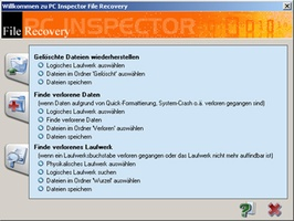 PC Inspector File Recovery screenshot 2