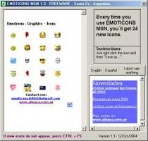 Emoticons screenshot 2