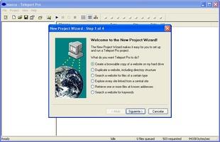 Teleport Pro screenshot 3