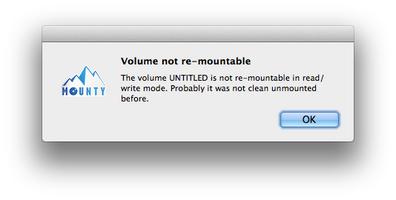Mounty for NTFS screenshot 2