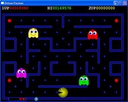 Deluxe Pacman screenshot 2