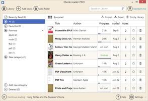 IceCream Ebook Reader screenshot 4