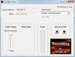 SoundWire Server screenshot 4