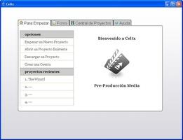 Celtx screenshot 3