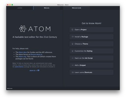 Atom screenshot 5