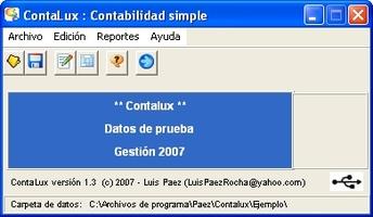Contalux screenshot 2